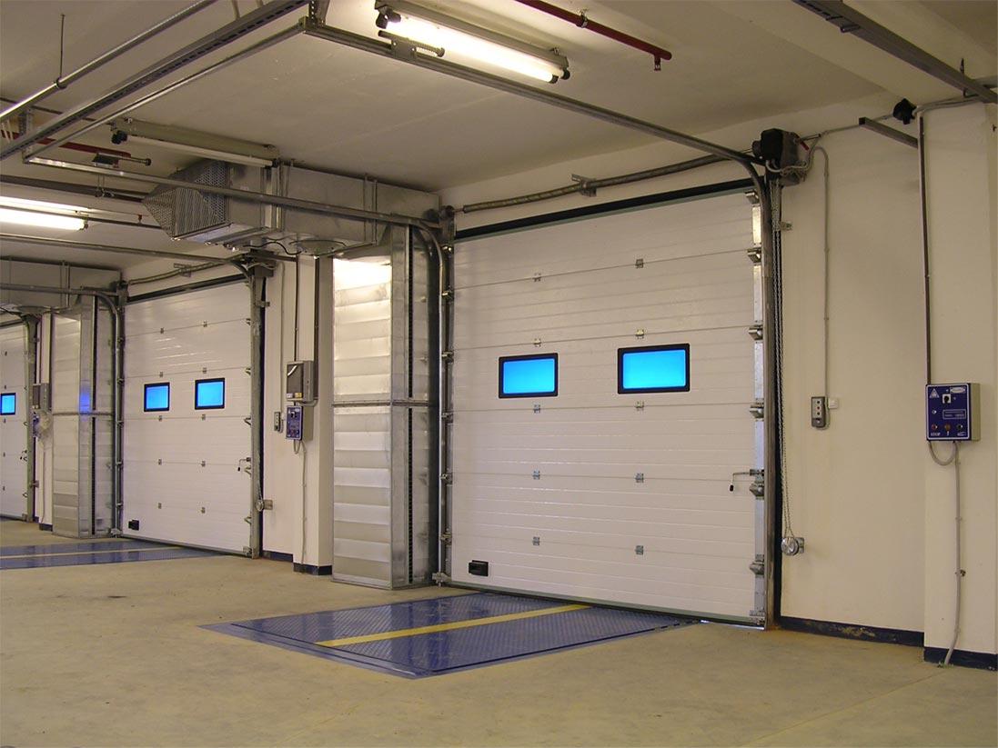Монтаж автоматических гаражных ворот 26